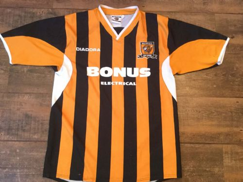 2005 2006 Hull City Home Football Shirt Adults Small